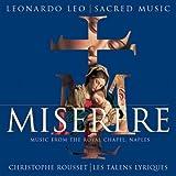Leo - Miserere / Les Talens Lyriques, Rousset