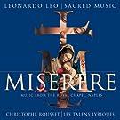 Leo - Miserere / Musique de la Chapelle Royale de Naples