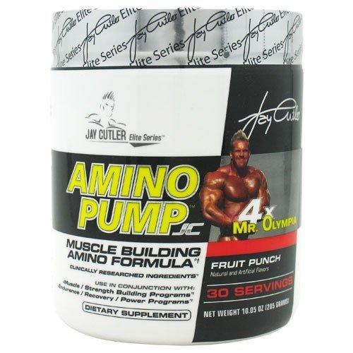 Jay Cutler Elite Series Amino PumpJC Fruit Punch -- 10.05 oz by Jay Cutler Elite Series [並行輸入品]