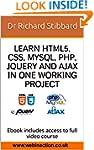 Learn HTML5, CSS, MySQL, PHP, jQuery...