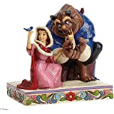 Jim Shore Disney Traditions Belle and Beast in Winter Figurine, 6.25""