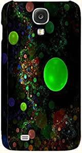 Stunning multicolor printed protective REBEL mobile back cover for Samsung I9500 Galaxy S4 D.No.N-T-1144-S4