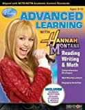 Hannah Montana Advanced Learning Reading, Writing [96 Pieces] *** Product Description: Disney Hannah Montana Advanced Learning Workbook Promotes Reading, Writing & Math Skills. Includes 32 Pages 8.5 X 11 Soft Cover. Includes Over 30 Hannah Mont ***