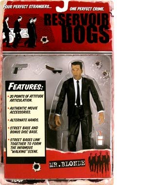 Picture of Mezco Reservoir Dogs Mr. Blonde Michael Madsen Action Figure (B000IMITWG) (Mezco Action Figures)