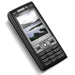 Sony Ericsson K800i Handy Velvet Black ohne Branding