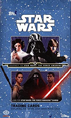2015 Topps Star Wars Journey to The Force Awakens SEALED HOBBY BOX