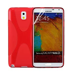Samsung Galaxy Note 3 Note III N9000 (Red): Cell Phones & Accessories