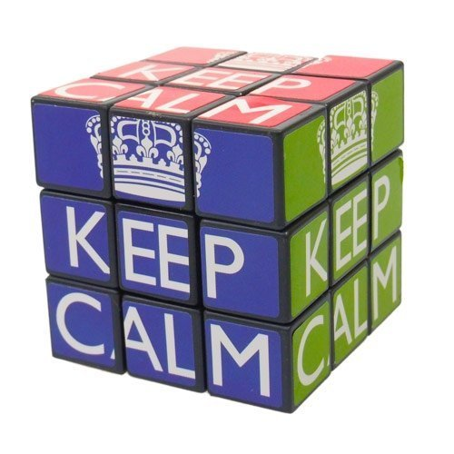 Keep Calm Cube Puzzle - 1