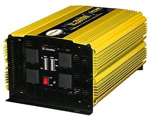 Buy Go Power! GP-3000HD 3000-Watt Heavy Duty Modified Sine Wave Inverter by Go Power!