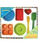 The Little Cook / Child's 10-piece Silicone Bakeware Set