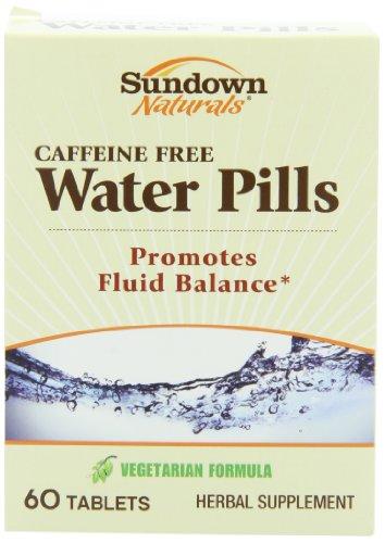 Sundown Naturals Water Pills Benefits