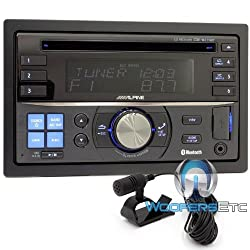See Alpine Cde-w235bt Double Din In-dash Car Receiver with Direct Ipod/iphone Control and Steering Wheel Control Ready Details