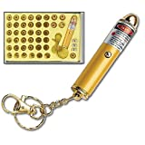 42 Head Laser Pointer Beam Keychain with Batteries