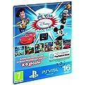 Sony PS Vita Disney Mega Pack + 16GB - accesorios de juegos de pc (Negro, Al�mbrico)
