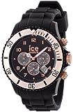 Ice-Watch Armbanduhr Chrono-Sili Big gold CH.RG.B.S.09