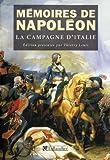 Mémoires de Napoléon [Tome I], La campagne d'Italie, 1796-1797