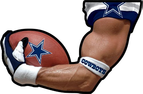 Dallas Cowboys Arm Car Magnet