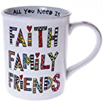 Faith Family Friends Mug