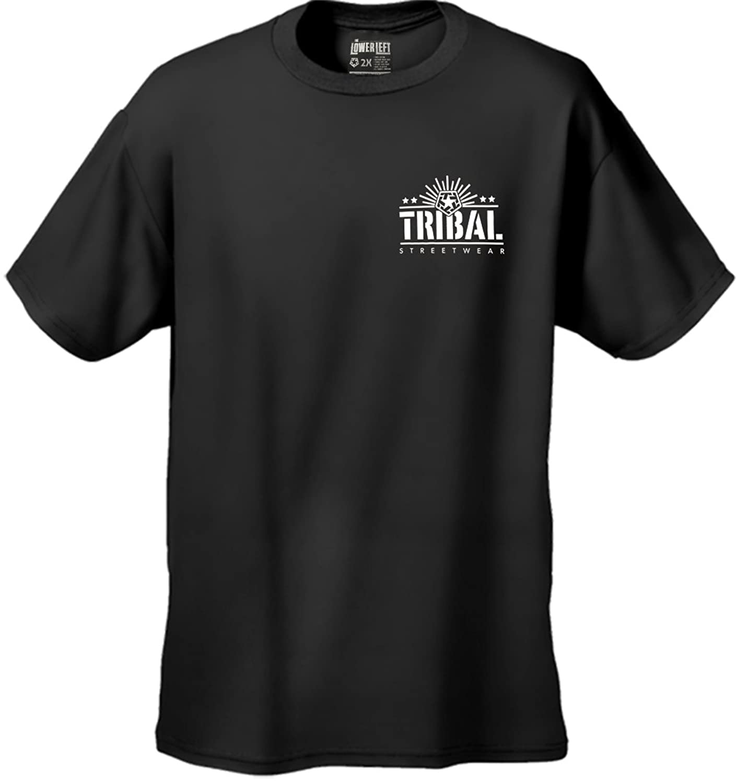 Tribal Gear M5 Stencil Men's T-Shirt #27 tribal gear men s wings t shirt black