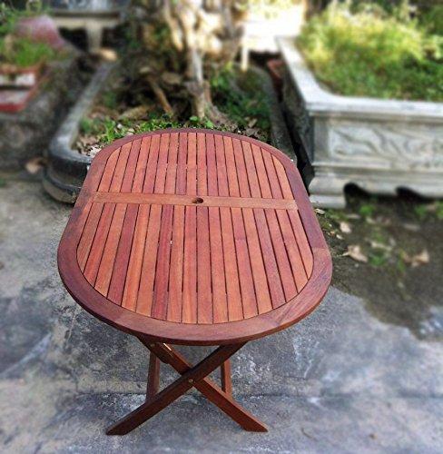 Perfect Garden Velino Folding Table Outdoor Patio Furniture
