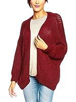 SO Cachemire & Knitwear Chaqueta Punto Mila (Burdeos)