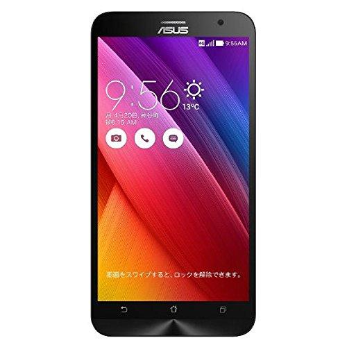 【国内正規品】ASUSTek ZenFone2 ( SIMフリー / Android5.0 / 5.5型ワイド / デュアルmicroSIM / LTE ) (ブラック, 4GB/64GB) ZE551ML-BK64S4