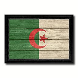 Algeria National Textured Flag Art Country Office Wall Home Decor Bedroom Livingroom Masteroom ManCave Bar Gift Idea, 19\