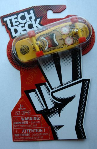 Tech Deck 2013 Homer Simpson Design 96mm Fingerboard