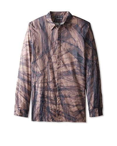Alexandre Plokhov Men's Printed Long Sleeve Shirt