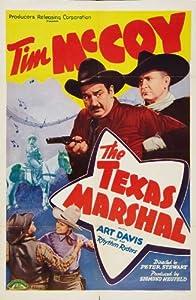 The Texas Marshal Movie Poster (11 x 17 Inches - 28cm x 44cm) (1941) Style A -(Tim McCoy)(Art Davis)(Kay Leslie)(Karl Hackett)(Edward Peil Sr.)(Charles King)