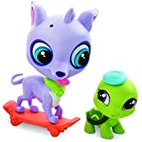 Littlest Pet Shop Speedy Carver And Fast Freddie Tortini Figures
