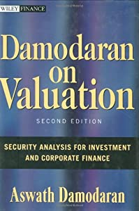 "Cover of ""Damodaran on Valuation: Securit..."