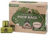Pogi's Poop Bags - 30 Unscented Rolls (450 Bags) - Large, Earth-Friendly, Leak-Proof Pet Waste Bags