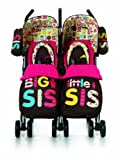 Cosatto Supa Dupa Twin Stroller (Big & Little Sis)