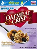 Oatmeal Crisp Cereal, Hearty Raisin, 18-Ounce Box (Pack of 4)
