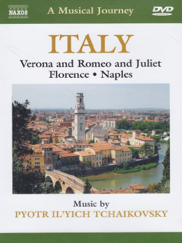 Cover art for  Naxos Scenic Musical Journeys Italy Verona, Romeo and Juliet, Florence, Naples