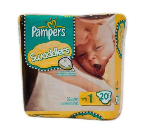 Pampers Swaddlers Size 1 20 Count Mini Pack