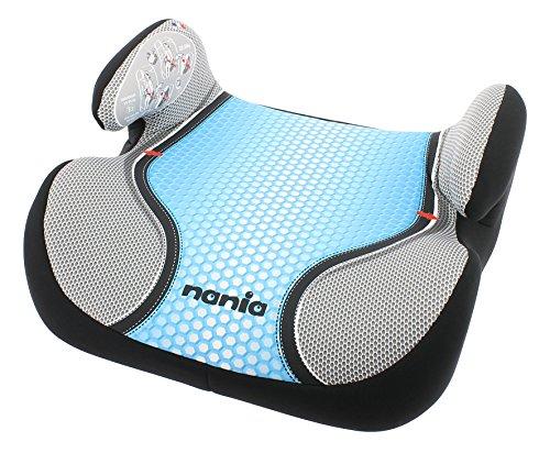Rialzo Osann auto sì che la seduta sia Booster, (15-36 kg), gruppo 2/3, di ca, fino a 12 anni 3, con tracolla la giacca interna è realizzata, Pop Blue blu