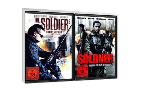 FSK 18 Spar-Set 2 DVDs Action : The Soldier 2, Der Kampf Geht Weiter + Söldner, Gesetzlos Und Gefürchtet