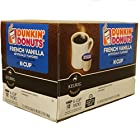 Dunkin Donuts K-cups French Vanilla - Box of 12 Kcups for Use in Keurig Coffee Brewers