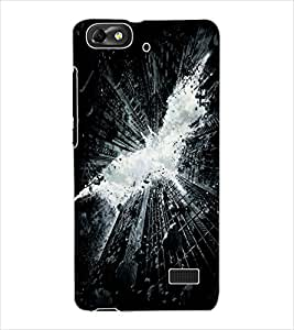 ColourCraft Dark Fighter Design Back Case Cover for HUAWEI HONOR 4C