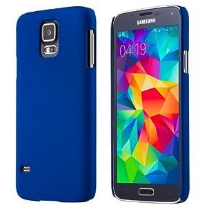 Adento Galaxy S5 Hülle (blau), ultradünnes Polycarbonat Case für das Galaxy S5