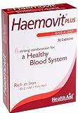 HealthAid Haemo-vit Plus - Iron, B6, Folic Acid - 30 Capsules