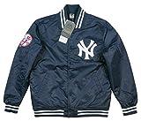 (マジェスティック)MAJESTIC 当店別注モデル ニューヨーク ヤンキース ナイロンサテン スタジャン M NAVY(ネイビー)