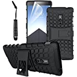 OnePlus One ( One Plus 1 ) - Stylish Heavy Duty Hard Back Armor Shock Proof Case Cover with Back Stand Feature & Free Touch Screen Stylus Pen by Accessories Collection
