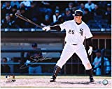 "Jim Thome Chicago White Sox Autographed 16"" x 20"" Horizontal Bat On Side Photograph - Fanatics Authentic Certified"