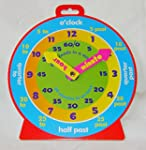 NEW TEACHING CLOCK FOR LEARNING TO TE...