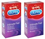 24 Durex Intimate Feel (Elite) Condom...