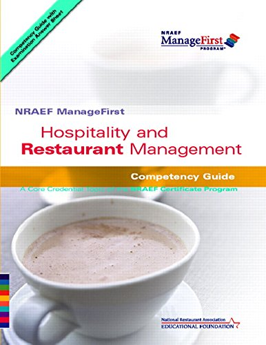 NRAEF ManageFirst: Hospitality and Restaurant Management (NRAEF ManageFirst Program) (Music Trade In Program compare prices)