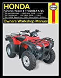 Honda Rancher, Recon & TRX250EX ATV's (Owners' Workshop Manual) image